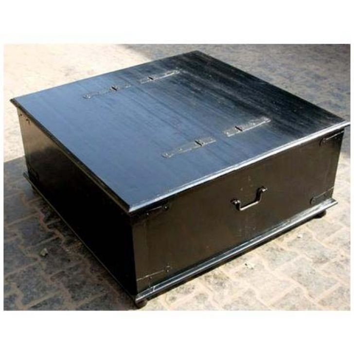 Awesome Fashionable Coffee Tables With Box Storage For Black Wood Coffee Table Biantable (Image 10 of 50)