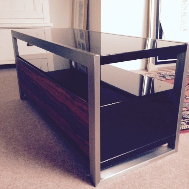 Awesome Fashionable Dwell TV Stands Pertaining To Dwell Nova Tv Stand Audio Stereo Audio Stereo (Image 4 of 50)