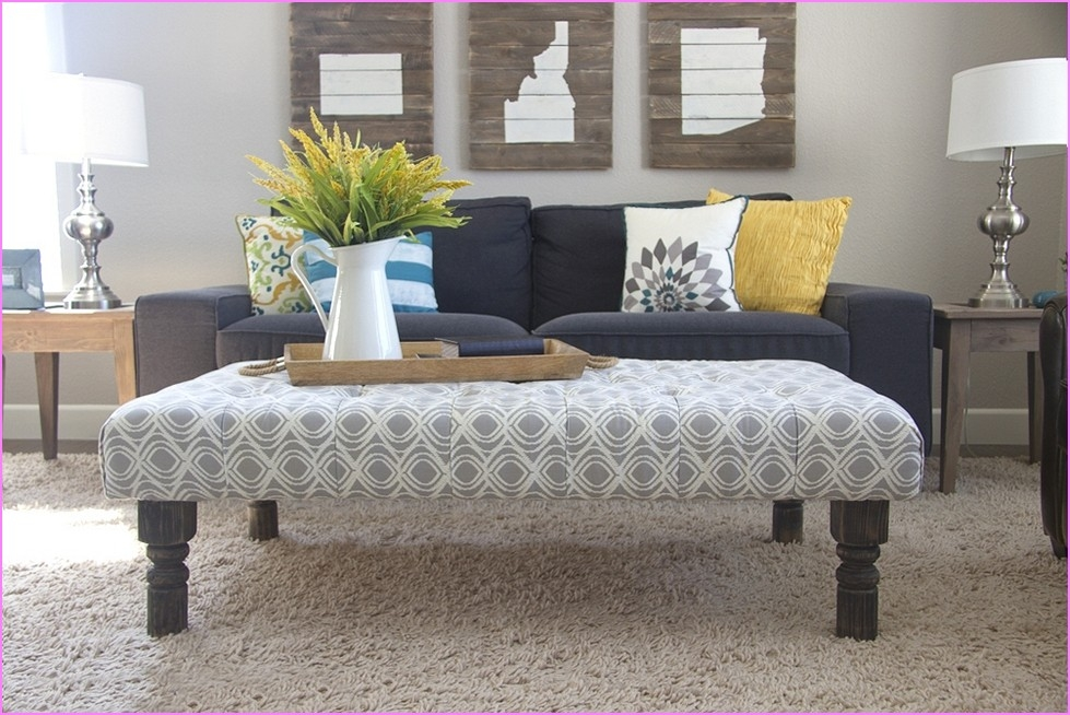 Awesome Fashionable Fabric Coffee Tables For Fancy Fabric Ottoman Coffee Table Excellent Coffee Table Ottoman (View 5 of 50)