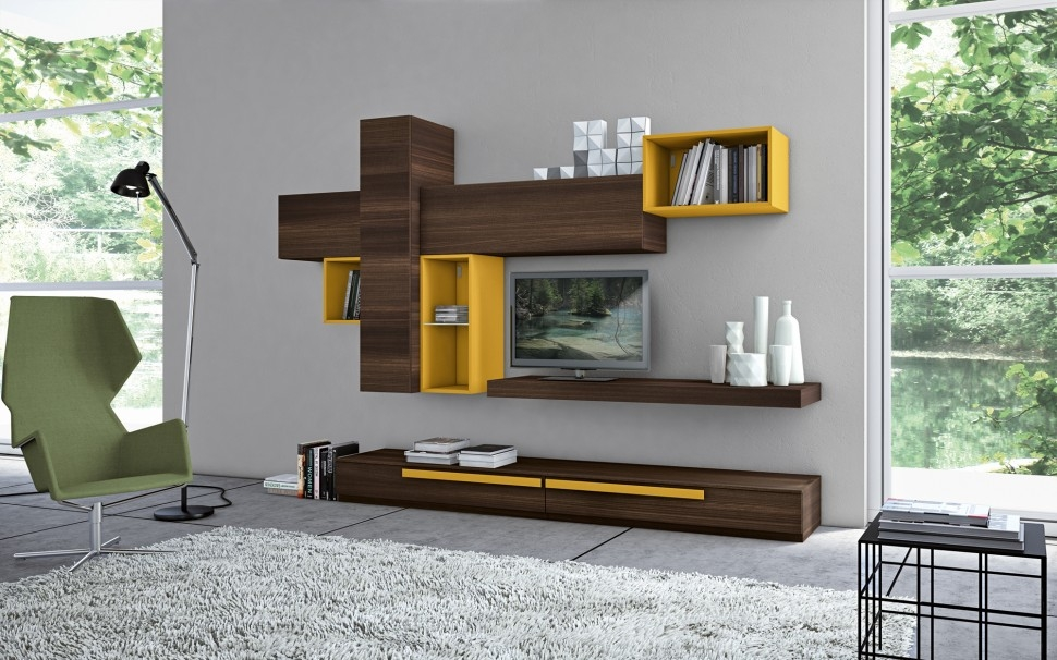 Awesome Fashionable Modular TV Cabinets Throughout Tv Stands Kids Bookshelf Tv Stand Design Ideas Images Bookshelf (Image 2 of 50)