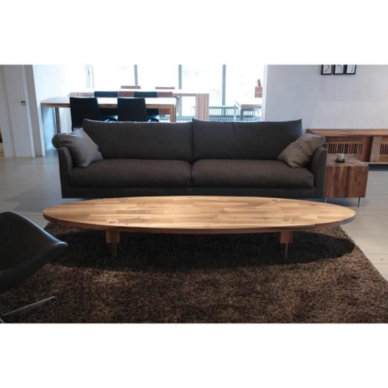 Awesome Fashionable Oval Wooden Coffee Tables Pertaining To Contemporary Coffee Table Wooden Oval Round Jelle Pilat (Image 4 of 50)