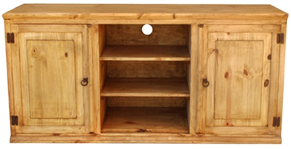 Awesome Fashionable Pine TV Stands Pertaining To Rustic Furniture Roma Mexican Rustic Pine Tv Stand (Image 7 of 50)
