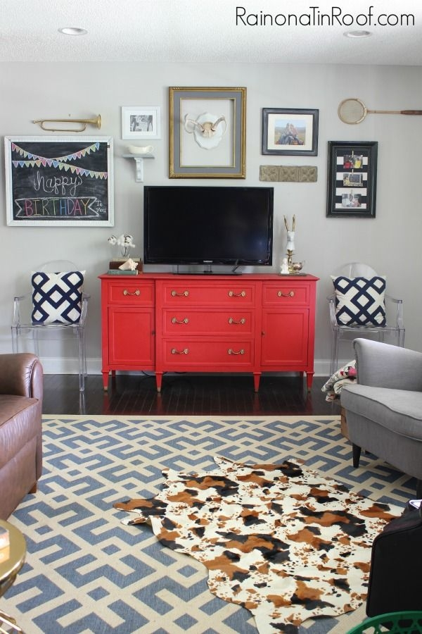 Awesome Fashionable Red Modern TV Stands Regarding The 25 Best Red Tv Stand Ideas On Pinterest Red Wood Stain (Image 3 of 50)