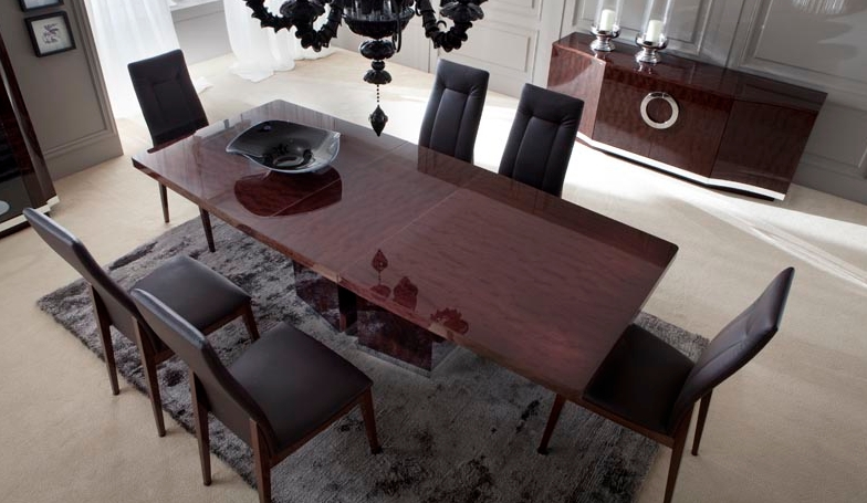 Awesome Fashionable Torino Coffee Tables With Torino Dining Room Extention Table Laquer Finish (Image 4 of 40)
