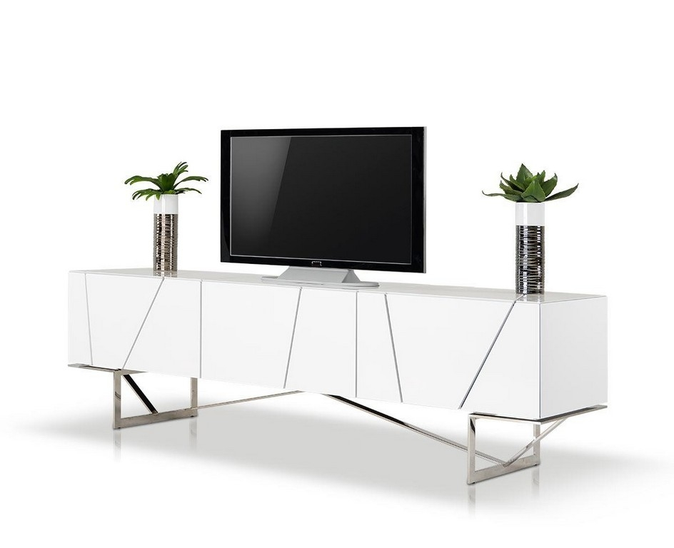 Awesome Fashionable Ultra Modern TV Stands With Regard To Furniture Long Black Tv Stand Tv Entertainment Center Cheap Tv (Image 3 of 50)