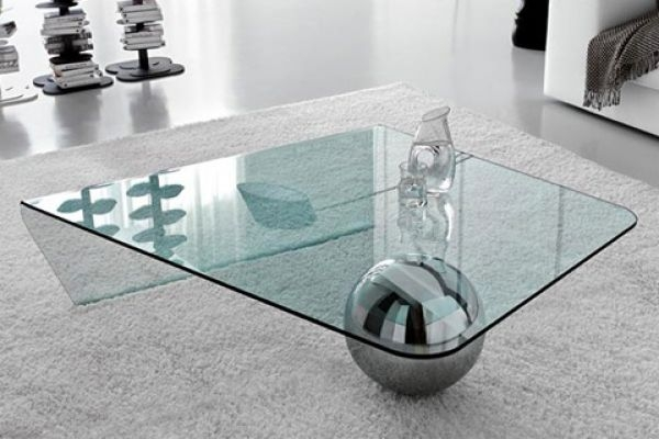 Awesome Fashionable Unusual Glass Coffee Tables Inside Wonderful Cool Glass Coffee Tables With Additional Small Home (View 13 of 40)