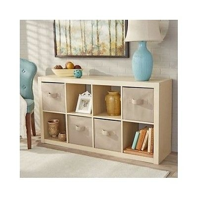 Awesome Favorite Birch TV Stands In 8 Cube Organizer Room Book Shelf Storage Wood Shelves Display (Image 10 of 50)