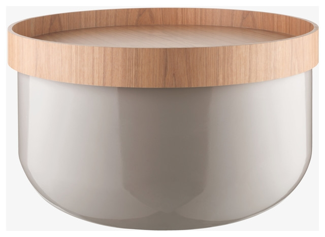 Awesome Favorite Circular Coffee Tables With Storage Intended For Round Storage Coffee Table (Image 4 of 50)