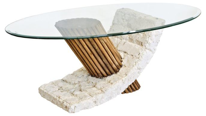 Awesome Favorite Glass And Stone Coffee Table In Coffee Table Furniture Inspiration Ideas Stone And Glass Coffee (Image 5 of 50)