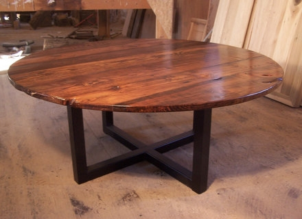 Awesome Favorite Large Wood Coffee Tables Inside Large Round Wood Coffee Table Jerichomafjarproject (Image 5 of 50)