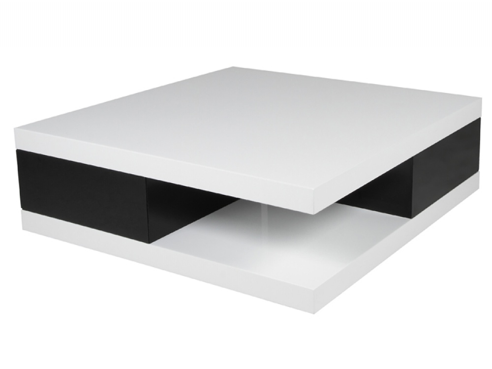 Awesome Favorite Low Coffee Tables With Drawers Inside Black Coffee Table With Drawers Coffee Table Hot Modern Mirrored (View 43 of 50)