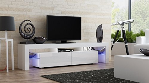 Awesome Favorite Milano TV Stands Within Amazon Tv Stand Milano 200 Modern Led Tv Cabinet Living (Image 7 of 50)