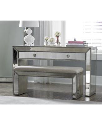 Awesome Favorite Mirrored TV Stands With Regard To Sophia Mirrored Tv Stand Furniture Macys (View 31 of 50)