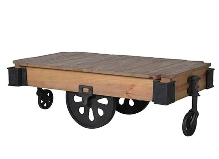 Awesome Favorite Old Pine Coffee Tables Throughout Coffee Tables With Old Wheels Missionportland (Image 7 of 50)