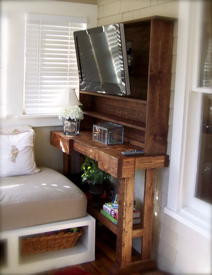Awesome Favorite TV Stands For Small Spaces For 34 Best Tv Stand Images On Pinterest (Image 7 of 50)