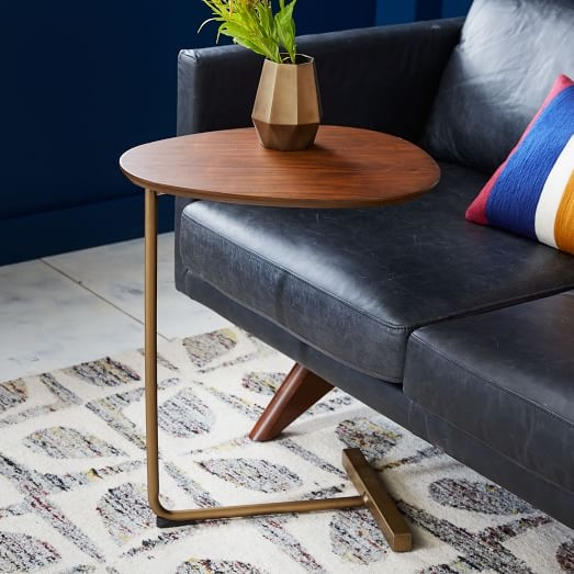 Awesome High Quality C Coffee Tables Inside Charley C Side Table West Elm (View 5 of 50)