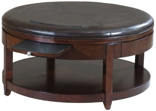 Awesome High Quality Circular Coffee Tables With Storage Within Coffee Table With Storage Ottomans Full Image For Fabric Storage (Image 5 of 50)