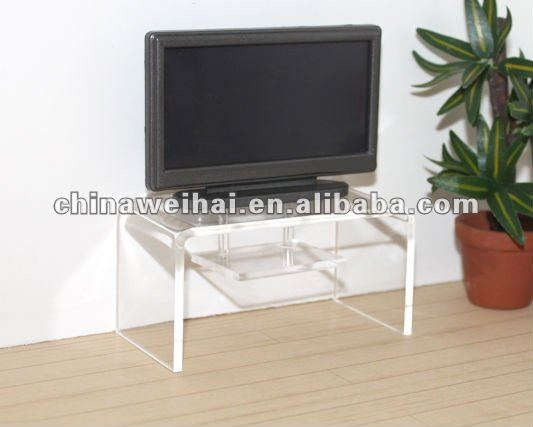 Awesome High Quality Clear Acrylic TV Stands With Clear Acrylic Tv Stand Table Clear Acrylic Tv Stand Table (Image 9 of 50)