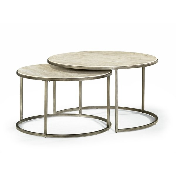 Awesome High Quality Coffee Tables With Nesting Stools Intended For Brayden Studio Masuda Nesting Coffee Table Reviews Wayfair (View 27 of 50)