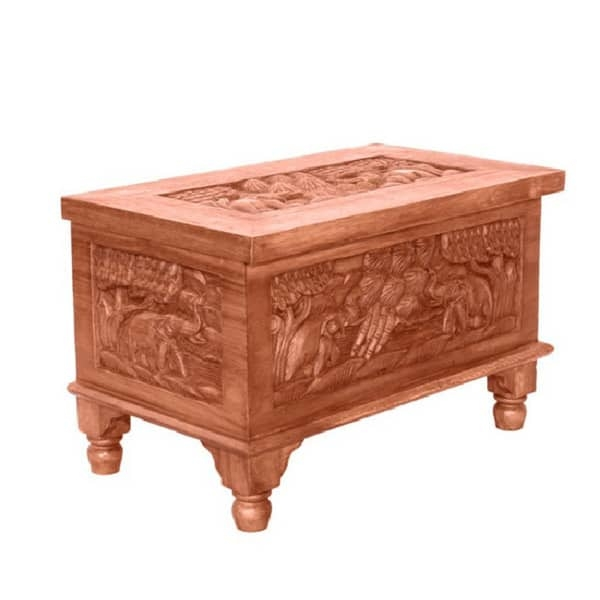 Awesome High Quality Elephant Coffee Tables Pertaining To Hand Carved Elephant Design Coffee Table Chest Free Shipping (Image 10 of 50)