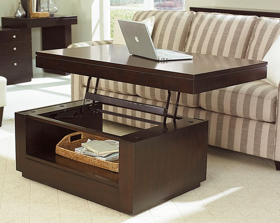 Awesome High Quality Hinged Top Coffee Tables Regarding Coffee Table Amish Lift Top Coffee Table Solid Oak Coffee Table (Image 7 of 40)