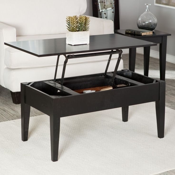Awesome High Quality Lift Up Coffee Tables Throughout Catchy Raising Coffee Table Hemnes Lift Top Coffee Table Ikea (View 31 of 50)