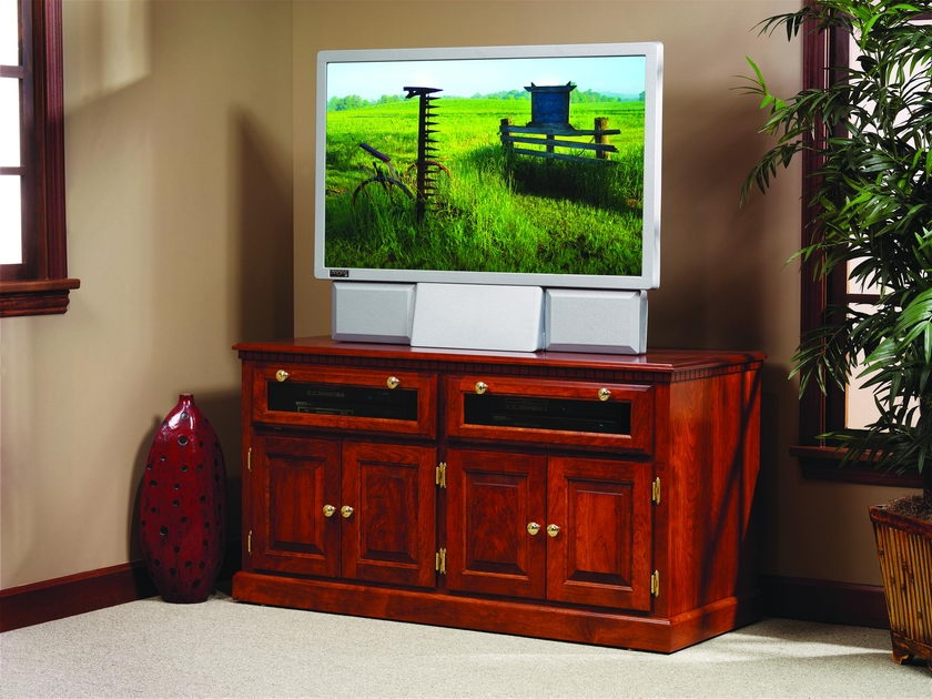 Awesome High Quality Square TV Stands Inside Traditional Hdtv Square Tv Stand With Raised Panel Doors (View 7 of 50)