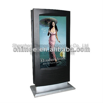 Awesome High Quality Stands Alone TV Stands Inside 55 Inch Dual Sided Network Lcd Advertising Display Tv Stand Alone (Image 7 of 50)