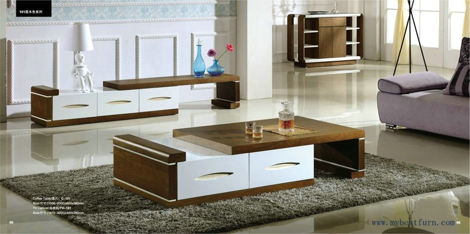 Awesome High Quality TV Stands Coffee Table Sets In Modern Design With Stretch Function Coffee Table And Tv Stand S (Image 7 of 50)