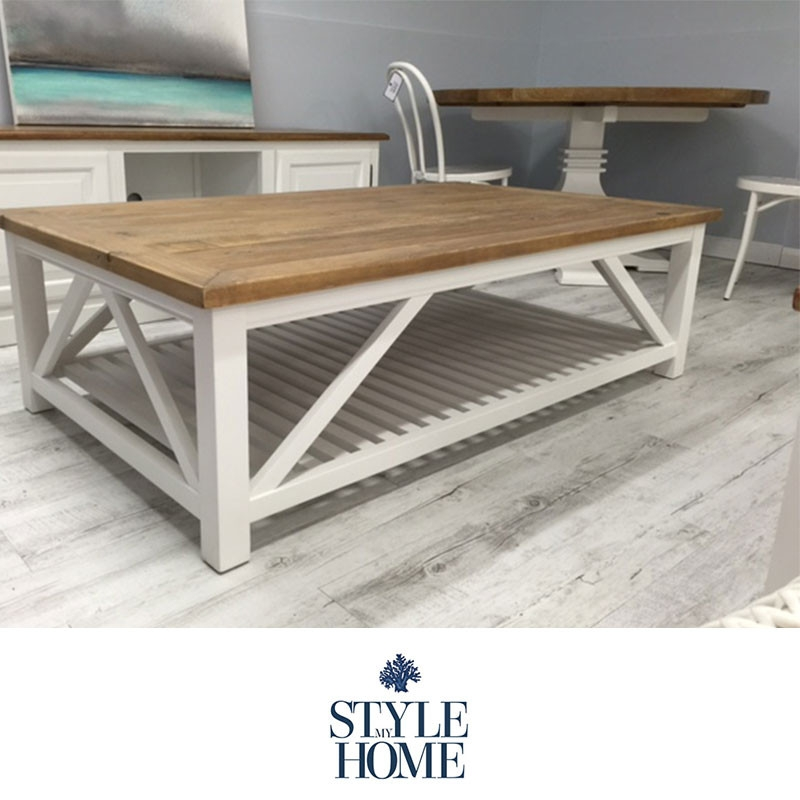 Awesome High Quality White Wood And Glass Coffee Tables With Regard To Living Room Best Wood Amp Metal Coffee Table Hampton White Washed (Image 6 of 40)