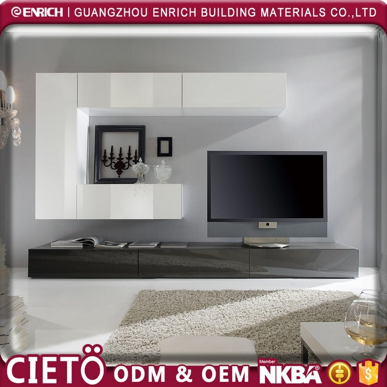 Awesome Latest Black TV Stands With Glass Doors With Black Tv Stand With Glass Doors (Image 7 of 50)