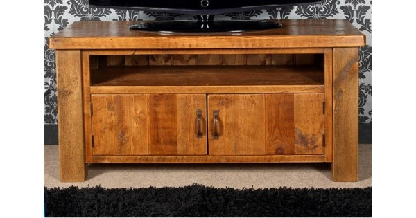 Awesome Latest Chunky TV Cabinets For Farmhouse Tv Cabinet With Doors (Image 4 of 50)
