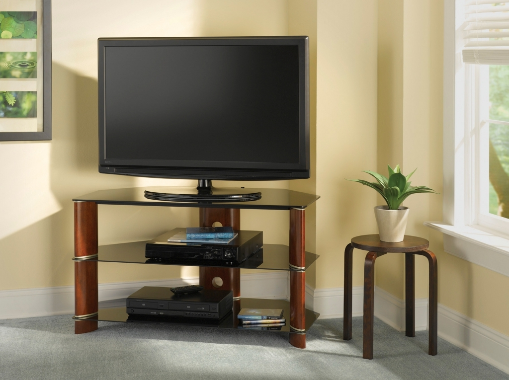 Awesome Latest Cream Corner TV Stands In Tv Stands Modern Corner Flat Panel Tv Stands Wood Tv Stand Target (Image 5 of 50)