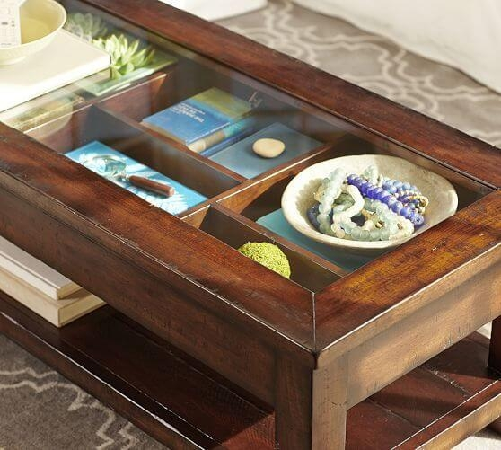 Awesome Latest Glass Top Display Coffee Tables With Drawers With Regard To 20 Coffee Table With Variety Form Function For All Your Needs (Image 11 of 50)