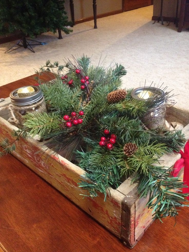 Awesome Latest Rustic Christmas Coffee Table Decors Regarding 174 Best Diy Coffee Table Images On Pinterest (Image 9 of 50)