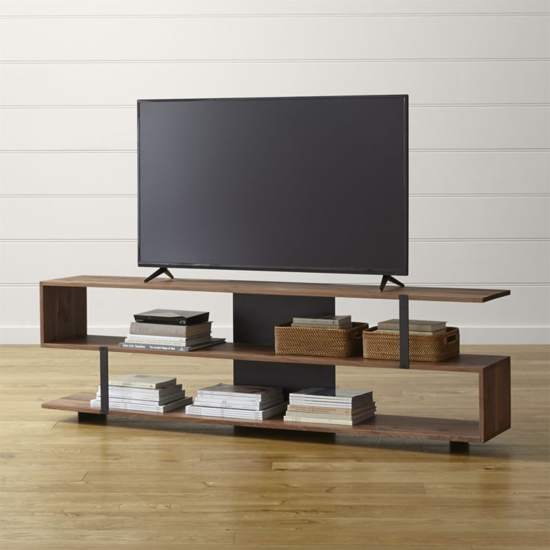 Awesome Latest Skinny TV Stands Within Tv Stands Small Minimalist Console Tv Stand Design Images Tall Tv (Image 5 of 50)