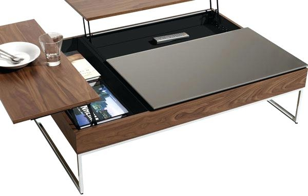 Awesome Latest Small Coffee Tables With Storage Throughout Small Coffee Table With Storage Dealhackrco (Image 5 of 50)