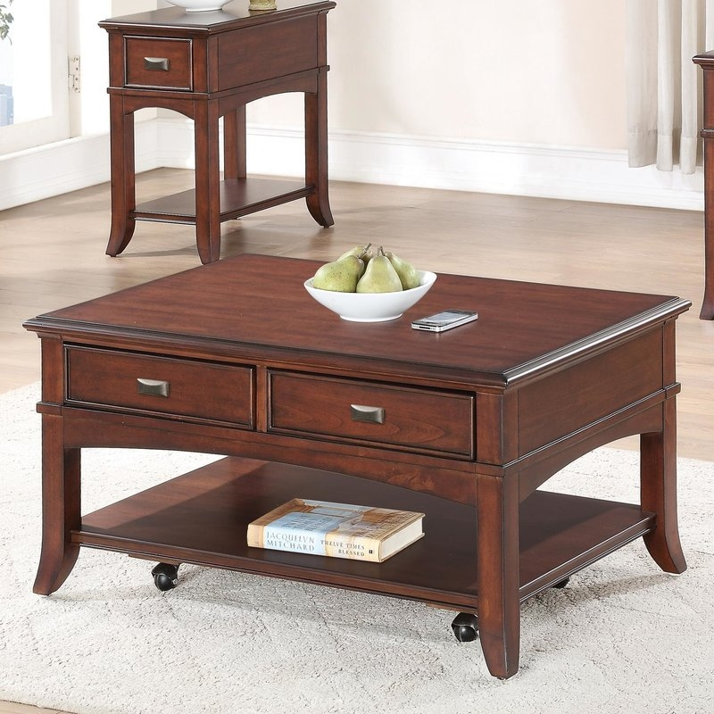Awesome Latest Wayfair Coffee Tables In Riverside Furniture Canterbury Coffee Table Reviews Wayfair (Image 10 of 40)