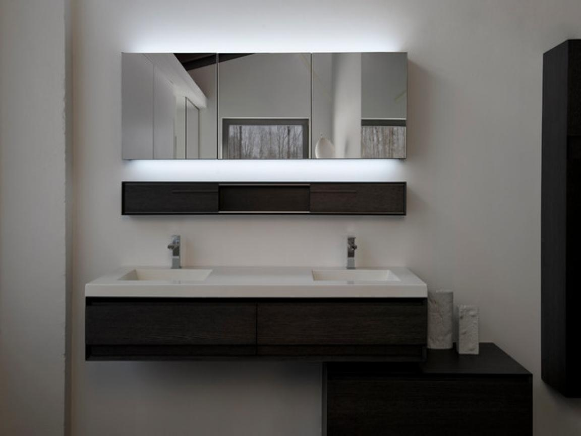 Awesome Modern Bathroom Mirror Photo Design Inspiration – Tikspor Pertaining To Modern Contemporary Mirrors (View 12 of 20)