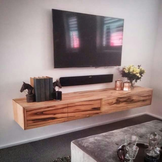 Awesome New Floating Glass TV Stands Pertaining To Tv Stands Awesome Wood Floating Tv Shelves 2017 Design Wood (Image 5 of 50)
