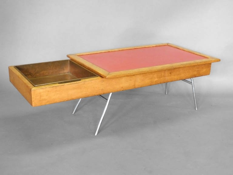 Awesome New Nelson Coffee Tables Regarding Early And Rare George Nelson Model 4662 Coffee Table For Sale At (Image 5 of 50)