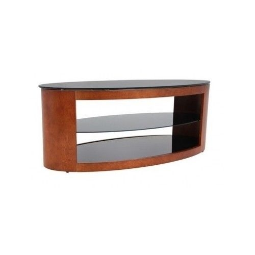 Awesome New Oval Glass TV Stands Pertaining To Oval Coffee Table Modern Wood Glass Shelves Tv Stand Cocktail Sofa (Image 5 of 50)