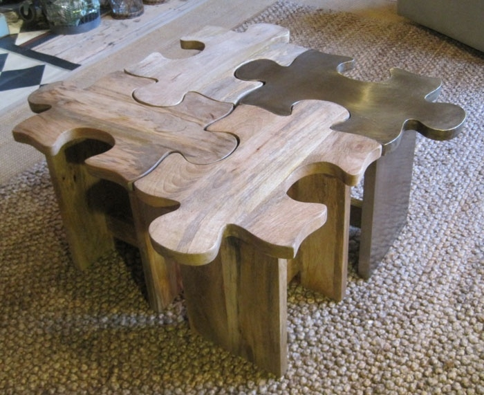 Awesome New Puzzle Coffee Tables Pertaining To 15 Best Fabulous Furniture Finds Images On Pinterest (Image 7 of 40)