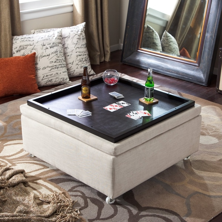 Awesome New Square Coffee Tables With Storage Cubes Throughout Best 10 Coffee Table Storage Ideas On Pinterest Coffee Table (View 22 of 40)