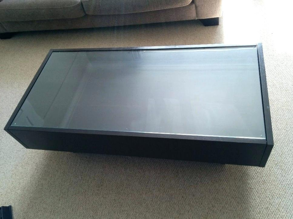 Awesome New Square Coffee Tables With Storages Pertaining To Coffee Table Modern Square Coffee Table Zab Living Black With (Image 3 of 50)