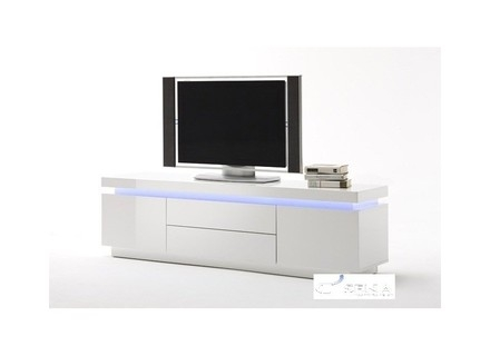 Awesome New White High Gloss Corner TV Stands With Regard To Details About Manhattan White High Gloss Corner Tv Unit Stand  (Image 6 of 50)