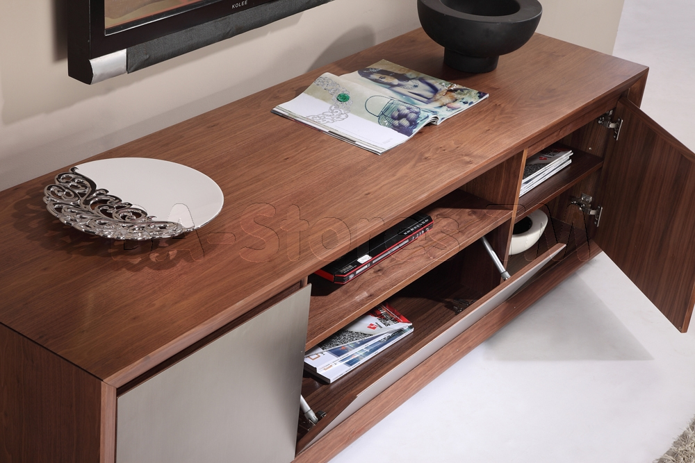 Awesome Popular BModern TV Stands With B Modern Esquire Tv Stand Light Walnut Modern Tv Stands And (Image 8 of 50)