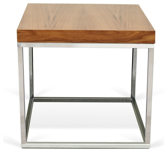 Awesome Popular Chrome Leg Coffee Tables For Prairie 20×20 End Table Contemporary Side Tables And End (Image 10 of 50)