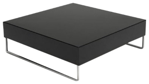 Awesome Popular Chrome Leg Coffee Tables Within Park Square Coffee Table Modern Coffee Tables Modern (Image 11 of 50)