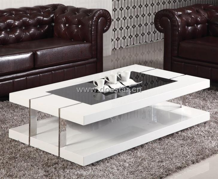 Awesome Popular Coffee Tables White High Gloss Throughout White Coffee Table Mdf In White High Gloss C19 Shop For Sale In (Image 5 of 40)